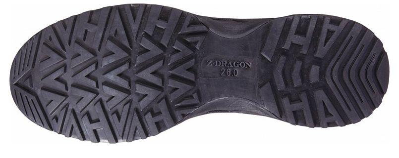 自重堂 S8182 Z-DRAGON 耐滑セーフティシューズ(マジックタイプ) スチール先芯 アウトソール・靴底