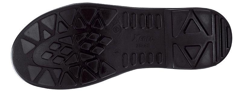 ジーベック 85021 安全短靴 樹脂先芯 アウトソール・靴底