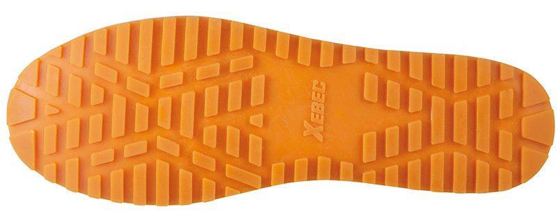 ジーベック 85665 厨房シューズ 先芯なし 耐滑ソール アウトソール・靴底