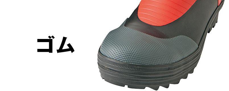 AZ4702 アイトス タルテックス 安全ゴム長靴 スチール先芯 アッパー
