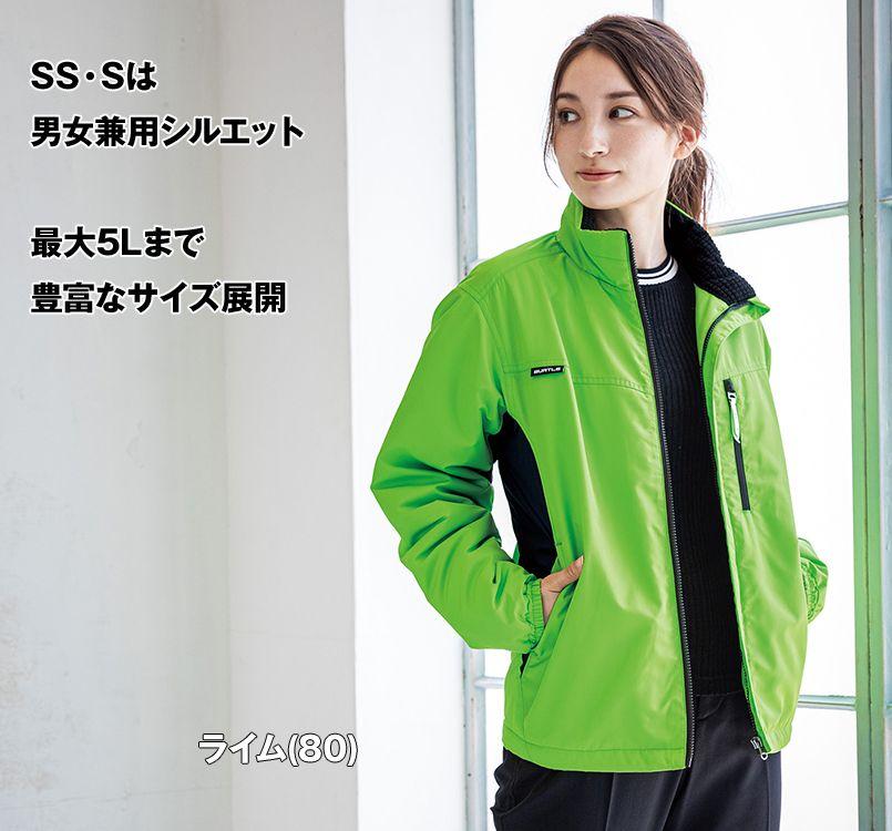 バートル バートル 3180 軽防寒スタッフブルゾン(男女兼用) 11-3180 軽防寒ジャケット モデル着用雰囲気3