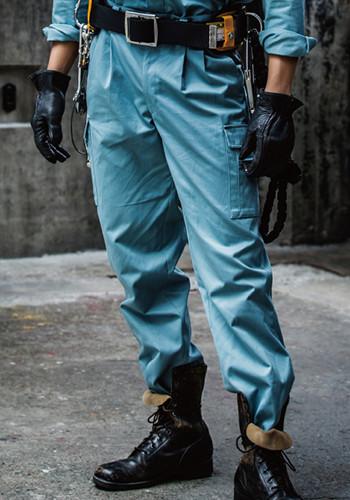 涼しい作業ズボン