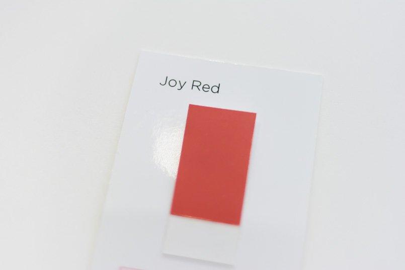色見本に合わせてプリントの色を調整