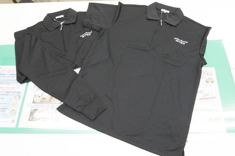 ロシャツは長袖と半袖の2種類を用意