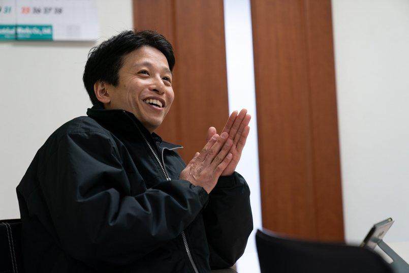ユニフォームの制作を担当された、株式会社フジタリード企画の営業一課の主任川田様