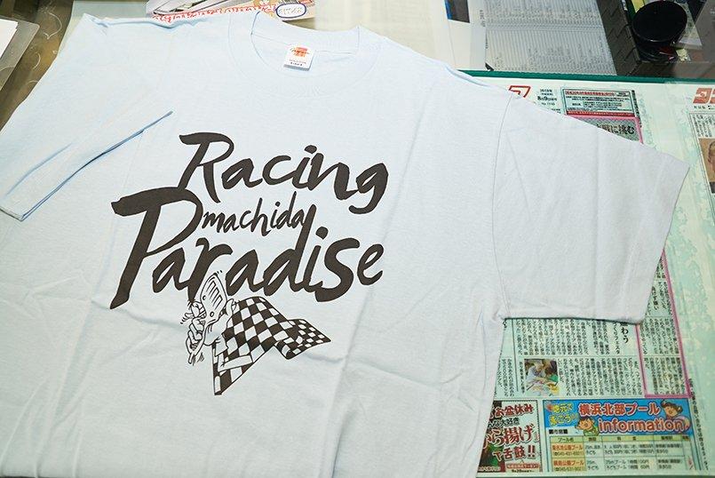 来店したお客様へ販売しているオリジナルTシャツ