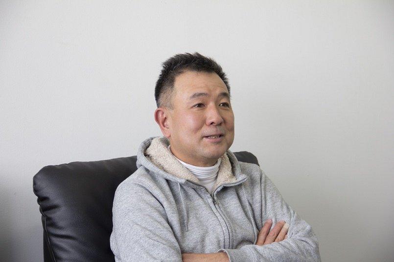 お話を聞いた日和運輸倉庫株式会社、代表取締役の佐藤様