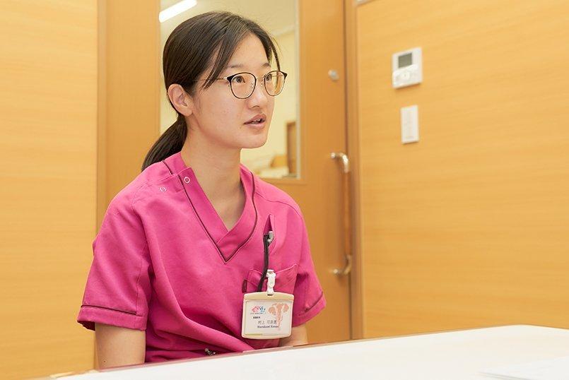 ユニフォーム発注ご担当の看護師長