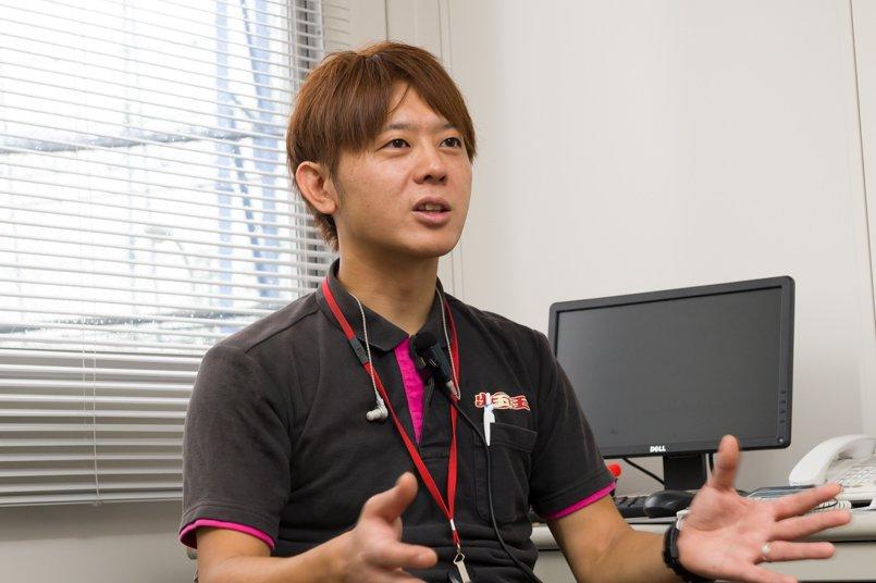 ユニフォーム発注ご担当の第二営業部川俣様